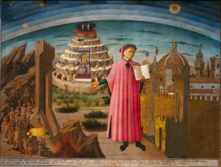 Dante's Purgatorio – A cultural enrichment class to celebrate the 700th anniversary of the passing of Dante Alighieri